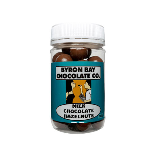 BYRON BAY CHOCOLATES – MILK HAZELNUTS JAR