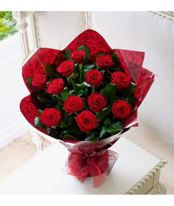 Ivy Lane Flowers & Gifts - Red Rose Bouquet