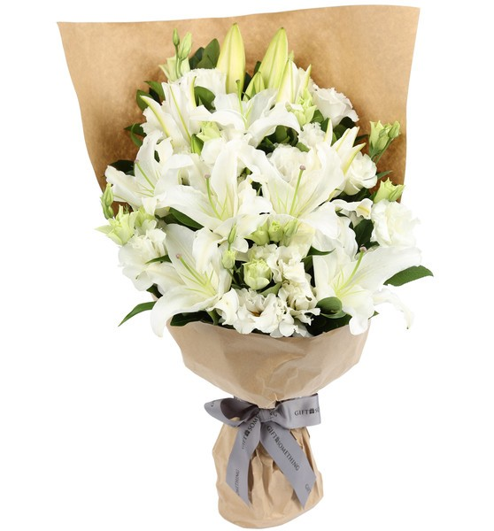 Ivy Lane Flowers & Gifts - Pretty White Lillies